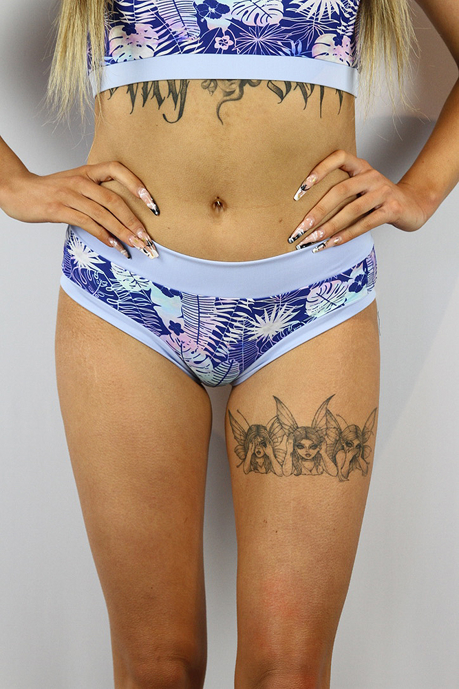 Rarr designs Enchanted Leaf Naughty Fit Shorts