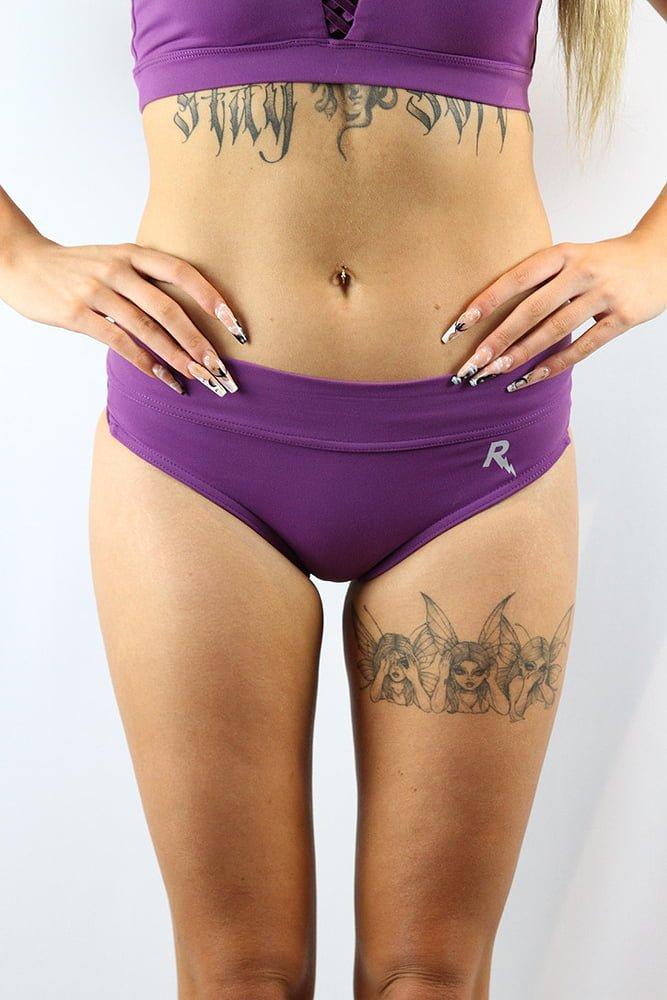 Rarr designs Ziki Booty Short Grape