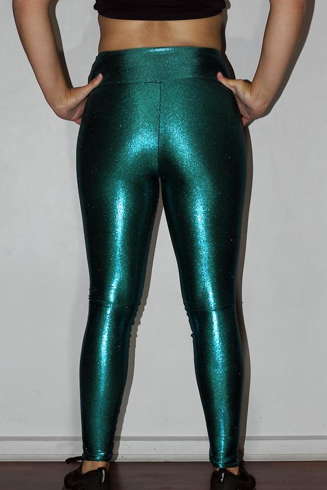 Jade Sparkle Full Tights Legging
