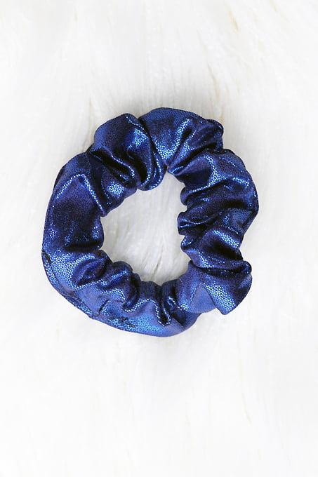 Rarr Designs Navy Sparkle Scrunchie