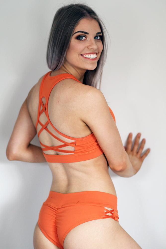 Rarr Designs Ziki Sports Bra Ginger