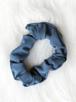 Rarr Designs Smokey Blue Scrunchie