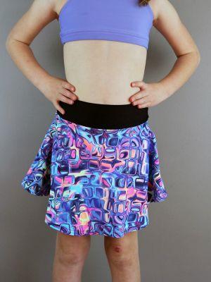 Lava Skater Skirt Youth Girls