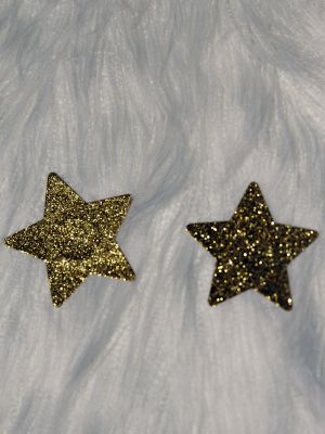 Rarr Designs Star Glitter Nipple Pasties Gold