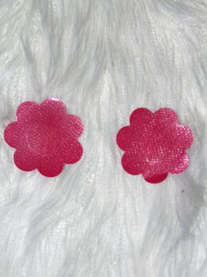 Rarr Designs Flower Sparkle Nipple Pasties Pink