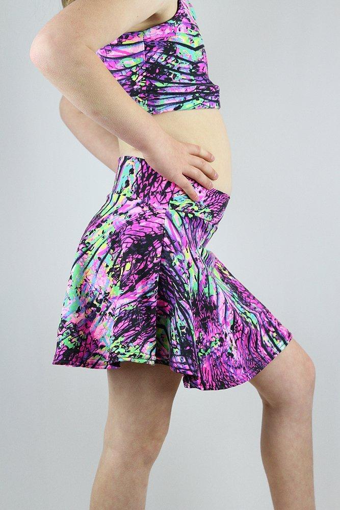 Pink Mystic Skater Skirt Youth Girls