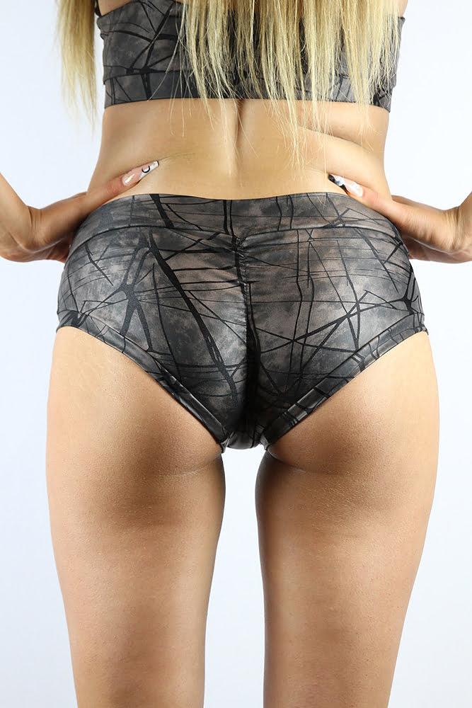 Rarr designs Metallica Naughty Fit Shorts Nero