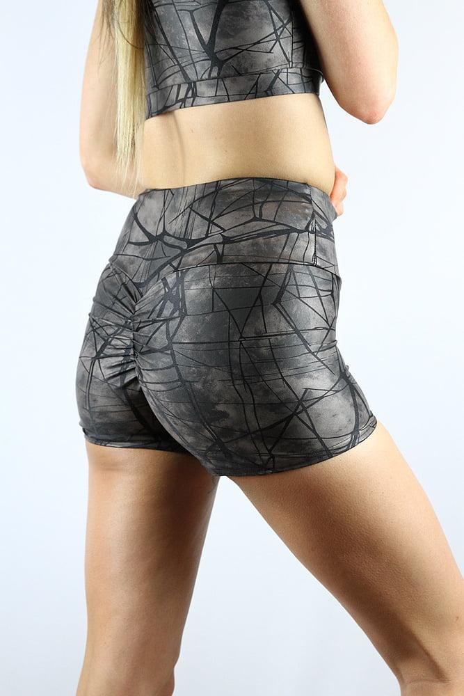 Rarr designs Metallica Gym Short Nero