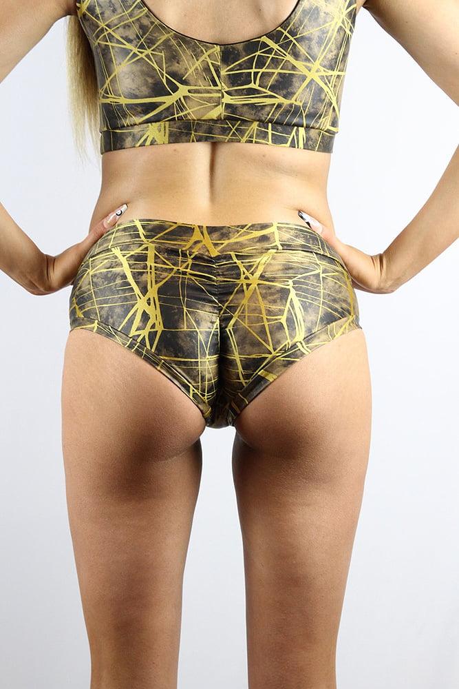 Rarr designs Metallica Naughty Fit Shorts Honey