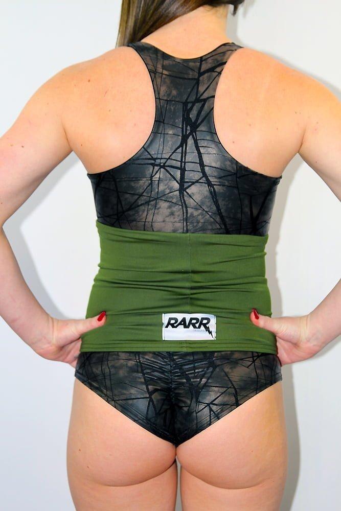 Rarr designs Olive Back Warmer