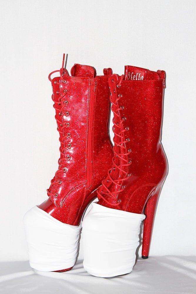 Rarr designs Matte White Shoe Protector