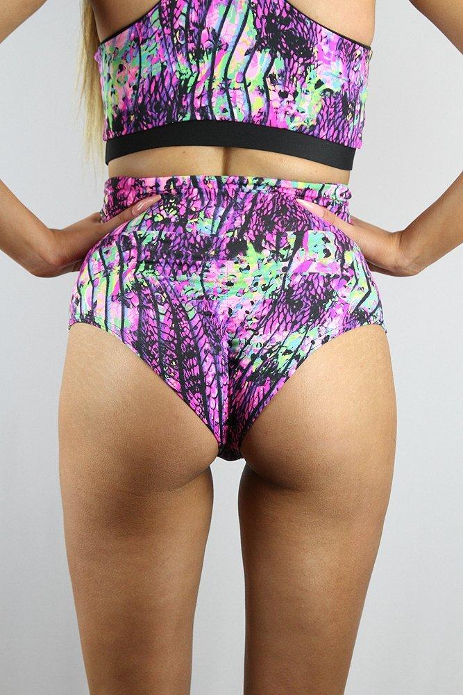 Rarr designs Rarr designs Mystic Pink Long Sleeve Crop Tee