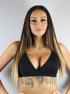 Rarr designs Matte Black Bikini Bra