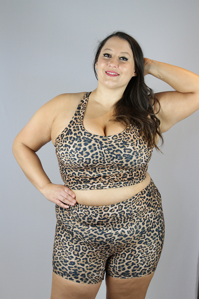Animal Gym Short - Plus Size