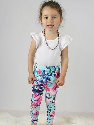 Hibiscus Baby Toddler Leggings/Tights