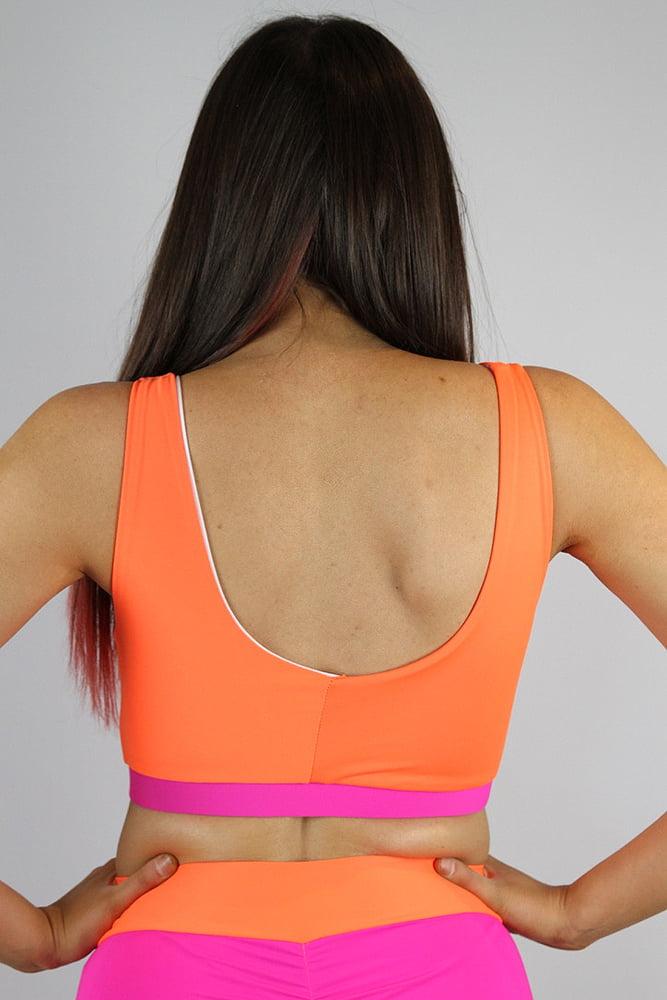 Rarr designs Sunkist Scoop Sports Bra