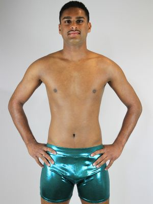 Rarr designs Jade Sparkle Men's Pole Short