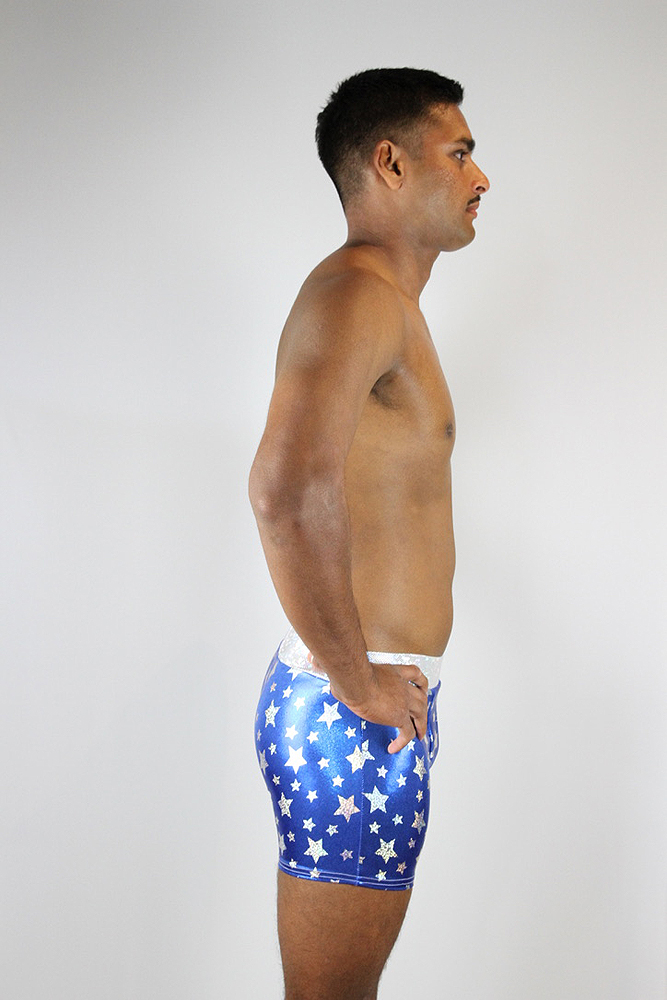 Rarr designs Caption America Men's Pole Short