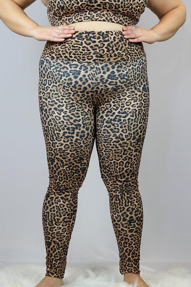 Rarr designs Animal Full Length Leggings/Tights - Plus Size