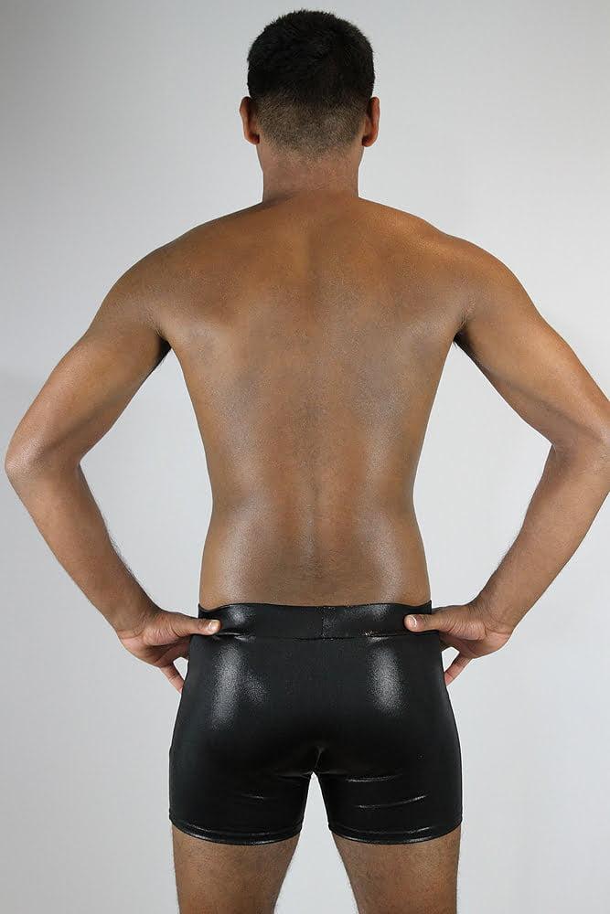 Rarr designs Black Sparkle Men's Pole Short