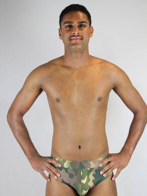 Rarr designs Camouflage Men's Pole Brief