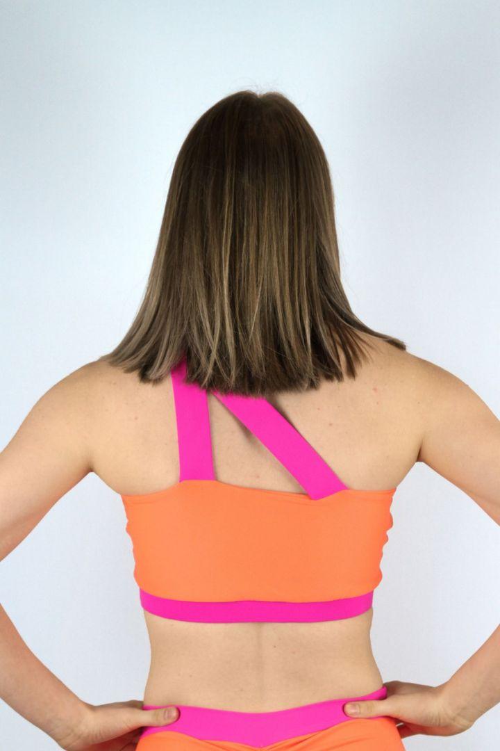 Sunkrist One Shoulder Sports Bra