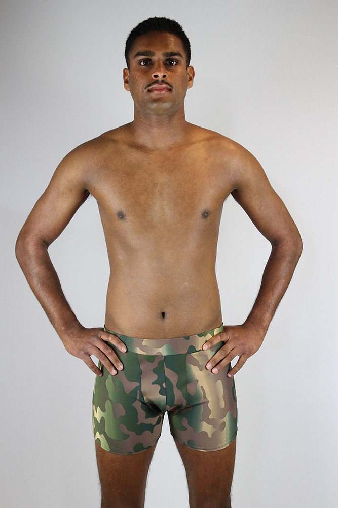 Rarr designs Camouflage Men's Pole Short